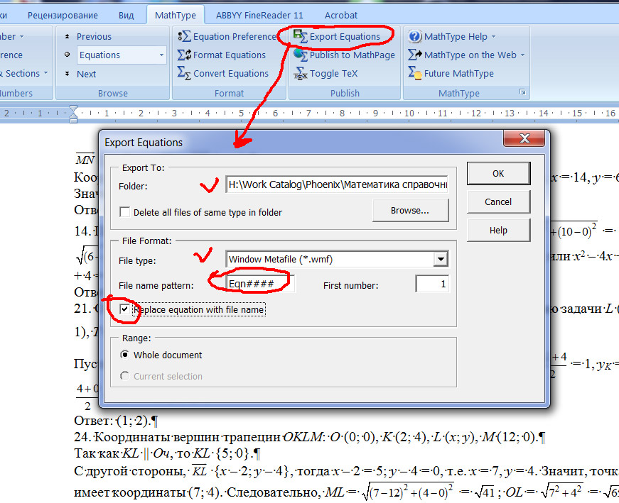 how to create subscripts in word equation editor